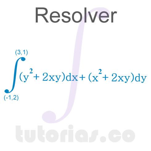 Determinar campo conservativo y funcion pot (integrales de linea)