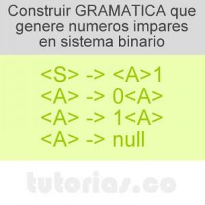 gramaticas