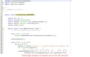 programacion en java