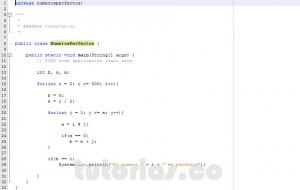 programacion en java: numeros perfectos