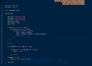 programacion en C++: demostracion implicacion logica