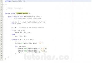 programacion en java: figura asterisco en matriz