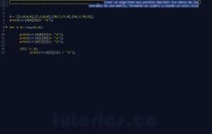 programacion en python: figura cuadro