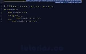 programacion en python: imprimir datos de figura X
