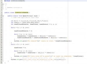 programacion en java: inventario de un almacen