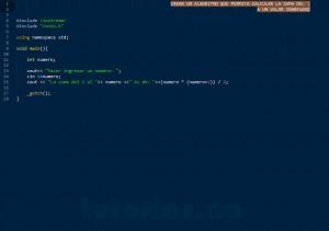 programacion en C++: suma del uno al n