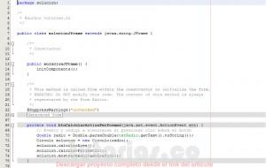 programacion en java: area perimetro del circulo