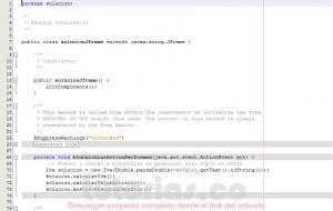 programacion en java: calculo de iva