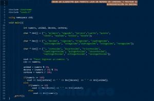 programacion en java: mostrar numero cardinal a ordinal