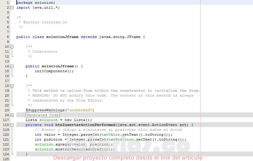programacion en java: eliminar elementos