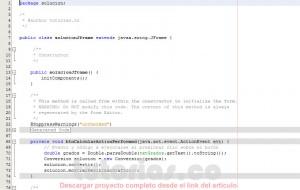 programacion en java: grados farenheit