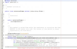 programacion en java: insertar elementos al inicio, medio o final