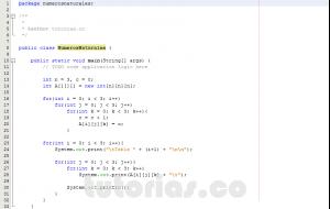 programacion en java: numeros naturales