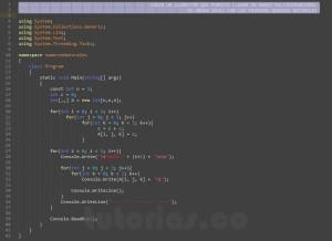 programacion en c#: numeros naturales