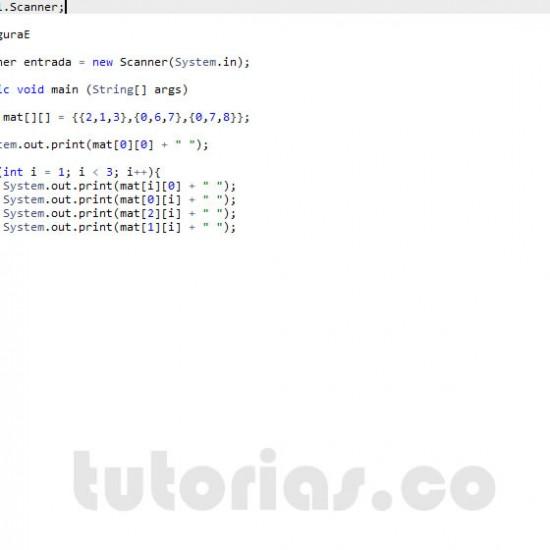 programacion en java: figura E