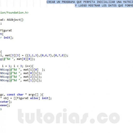 programacion en objective C: figura E
