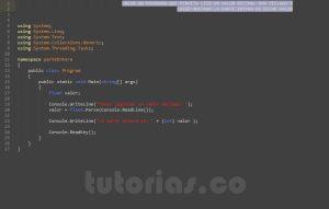 programacion en C#: parte entera de un decimal