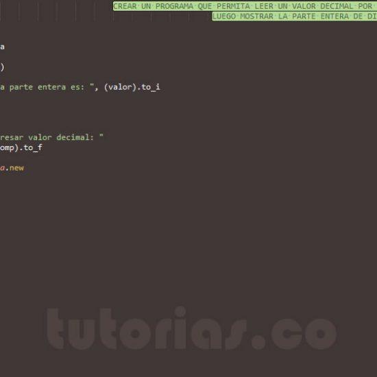 programacion en ruby: parte entera de un decimal