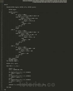 programacion en pseudocodigo: cantidad de digitos pares