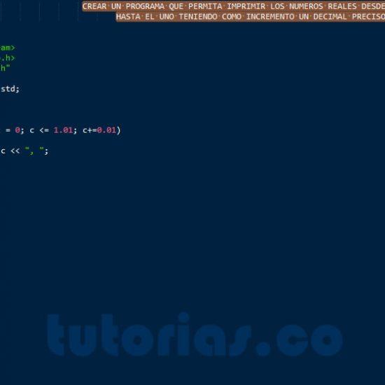 programacion en c++: reales entre 0 y 1