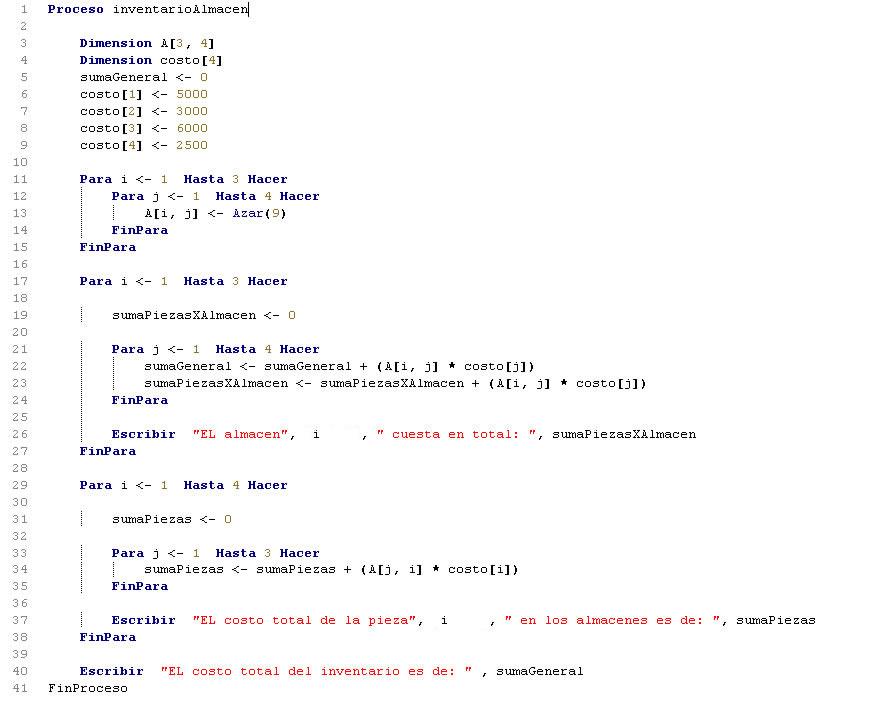 Arreglos pseint inventario de un almacentutorias tutorias figura programacion en pseint inventario de un almacen diagrama de flujo ccuart Images